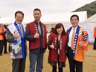 2017年11月18日臺北商圈前進日本松山產業祭