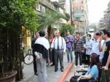臺北市商圈產業聯合會於永康商圈參訪40